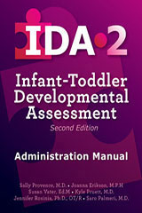 Infant-Toddler Developmental Assessment–Second Edition (IDA-2)  Complete Kit WITH Manipulatives and Carrying Case-9780544968561