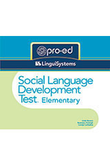 Social Language Development Test–Elementary: Normative Update (SLDT-E: NU)  Examiner's Manual-9780544978867