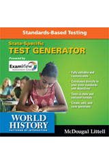 World History: Patterns of Interaction Exam View Suite 6.0 Test Generator CD-ROM