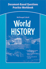 McDougal Littell Middle School World History  Document-Based Questions Practice Workbook-9780547013152