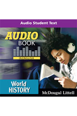 World History  Audio Book CD in English-9780547013510
