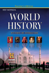 Modern World History: Patterns of Interaction  Teacher's Edition ©2009-9780547034928