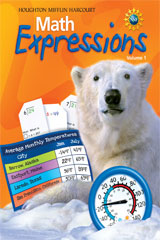 Math Expressions  Student Activity Book Softcover, Volume 1 Level 4-9780547057262