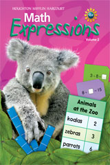 Math Expressions  Student Activity Book (Softcover), Volume 2 Level 1-9780547060682
