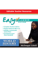 World History: Patterns of Interaction EasyPlanner DVD-ROM