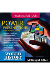 World History: Patterns of Interaction Power Presentations DVD-ROM