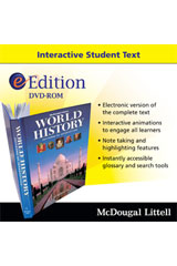 World History: Patterns of Interaction eEdition DVD-ROM