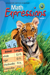 Math Expressions  Math Center Unit Challenge Easel Grade 2-9780547066486