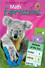 Math Expressions  Homework and Remembering Blackline Masters (2 volumes) Grade 1-9780547067124