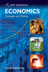 Economics: Concepts and Choices  Student Edition-9780547082943