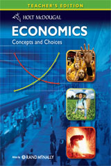 Economics: Concepts and Choices  Teacher's Edition-9780547083063