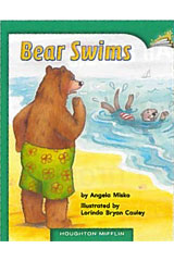 Journeys Leveled Readers  Individual Titles Set (6 copies each) Level E Bear Swims-9780547086347