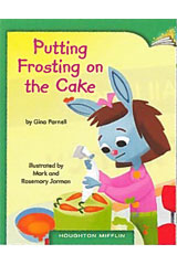 Journeys Leveled Readers  Individual Titles Set (6 copies each) Level D Putting Frosting on the Cake-9780547086460