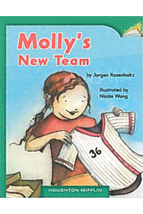Journeys Leveled Readers  Individual Titles Set (6 copies each) Level F Molly's New Team-9780547086583