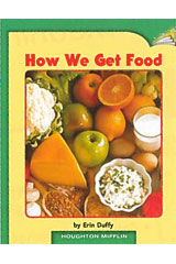 Journeys Leveled Readers  Individual Titles Set (6 copies each) Level G How We Get Food-9780547087139
