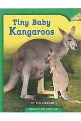 Journeys Leveled Readers  Individual Titles Set (6 copies each) Level I Tiny Baby Kangaroos-9780547087184
