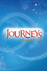 Journeys Leveled Readers  Individual Titles Set (6 copies each) Level I Curious George at the Library-9780547087511