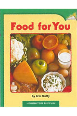Journeys Leveled Readers  Individual Titles Set (6 copies each) Level H Food for You-9780547088105