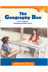 Journeys Leveled Readers  Individual Titles Set (6 copies each) Level V The Geography Bee-9780547088419