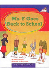 Journeys Leveled Readers  Individual Titles Set (6 copies each) Level O Ms. F Goes Back to School-9780547088570