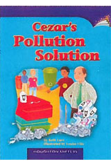 Journeys Leveled Readers  Individual Titles Set (6 copies each) Level P Cezar's Pollution Solution-9780547088815