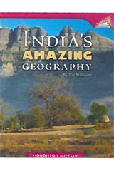 Journeys Leveled Readers  Individual Titles Set (6 copies each) Level Y India's Amazing Geography-9780547091143