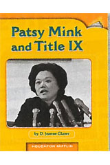 Journeys Leveled Readers  Individual Titles Set (6 copies each) Level W Patsy Mink and Title IX-9780547094182