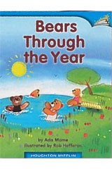Journeys Leveled Readers  Individual Titles Set (6 copies each) Level A Bears Through the Year-9780547095325