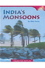 Journeys Leveled Readers  Individual Titles Set (6 copies each) Level X India's Monsoons-9780547095509