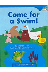 Journeys Leveled Readers  Individual Titles Set (6 copies each) Level D Come for a Swim!-9780547095646