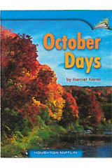 Journeys Leveled Readers  Individual Titles Set (6 copies each) Level A October Days-9780547096711