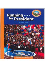 Journeys Vocabulary Readers  Individual Titles Set (6 copies each) Level S Running for President-9780547098944