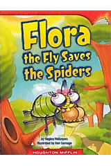 Journeys Leveled Readers  Individual Titles Set (6 copies each) Level J Flora the Fly Saves the Spiders-9780547100302