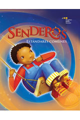 Senderos Leveled Readers  Above-Level Reader 6-pack Grade 2 Primos de costa a costa-9780547108070