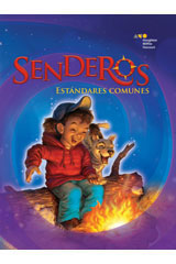 Senderos Leveled Readers  Above-Level Reader 6-pack Grade 3 Rescatemos las grullas-9780547110592