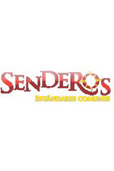 Senderos Leveled Readers  Leveled Reader 6-pack Level X Cartas desde el frente-9780547113807
