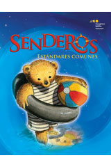 Senderos Leveled Readers  On-Level Reader 6-pack Grade K A nadar-9780547114859