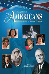 Holt McDougal The Americans: Reconstruction to the 21st Century © 2009 Michigan Student Edition-9780547117669