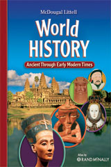 McDougal Littell World History: Ancient Through Early Modern Times © 2009  Student Edition-9780547124414