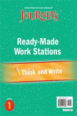 Journeys  Ready-Made Think and Write Flip Chart Grade 1-9780547125848