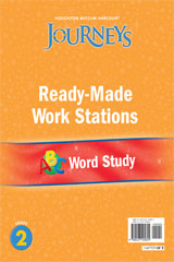 Journeys  Ready-Made Word Study Flip Chart Grade 2-9780547125855