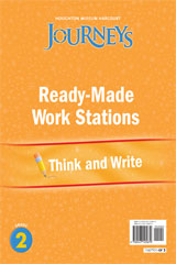 Journeys  Ready-Made Think and Write Flip Chart Grade 2-9780547125879