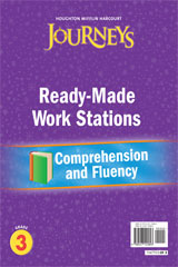 Journeys  Ready-Made Reading and Fluency Flip Chart Grade 3-9780547125893