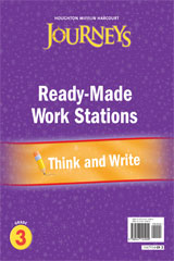 Journeys  Ready-Made Think and Write Flip Chart Grade 3-9780547125909