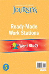 Journeys  Ready-Made Word Study Flip Chart Grade 5-9780547125954