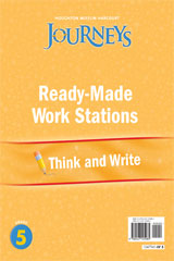 Journeys  Ready-Made Think and Write Flip Chart Grade 5-9780547125985
