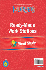 Journeys  Ready-Made Word Study Flip Chart Grade 6-9780547125992