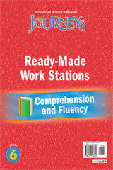 Journeys  Ready-Made Reading and Fluency Flip Chart Grade 6-9780547126005