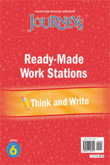 Journeys  Ready-Made Think and Write Flip Chart Grade 6-9780547126012