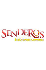 Senderos  Big Book Grade K En el mar azul-9780547133195